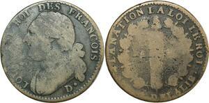 O9097 Constitution 12 Deniers Louis XVI François D. Dijon ->Make offer