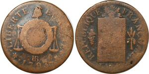 O9199 Convention Un sol balances An II 1793 BB Strasbourg ->Make offer