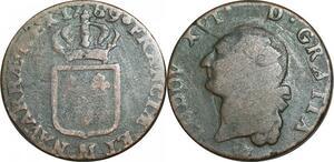 O9590 Sol Louis XVI 1789 M Toulouse ->Make offer