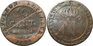 O9784 Faux d'époque 10 Centimes Napoléon I 1808 M Toulouse ->Make offer