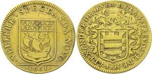 O4036 Jeton Louis XIV Noblesse Alexandre de Sève Prévôt Marchands Paris 1661