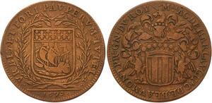 O4074 Jeton Achille de Harlay, Comte de Beaumont 1672 ->Make offer