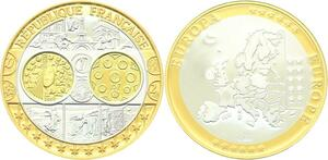 O4169 Medaille Europa France Argent 999% BE Proof PF ->M offre