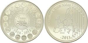 O4182 Medaille Essai 1958 2013 des XXXXVII 27 Proof PF BE ->M offre