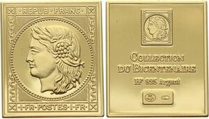 O4208 Timbre Monnaie Marianne Vermeil Proof BE ->M offre