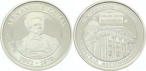 O4245 Rare Medaille Alexandre dumas 1802-1870 BE Proof PF ->M offre