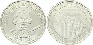 O4247 Rare Medaille Antoire de BougainVille 1729-1811 BE Proof PF ->M offre