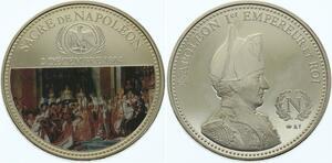 O4294 Medaille France Napoléon Empereur Sacre 1804 BE Proof ->Make offer