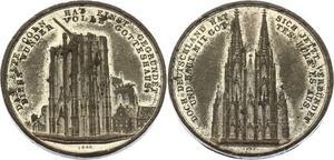 O4542 German Medal Alte Coln Cologne Neuss 1848 -> Make offer