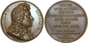 O5276 Medal UK Gulielmus Congreve Yorkshire 1819 Caqué Baron desnoyers SPL