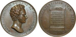 O5326 Scarce Medal Italy Giuseppe Stiozzi Ridolfi 1816 Santarelli desnoyers SPL