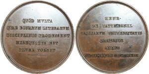 O5470 Rare Medaille Antoine Vatimesnil Cons. Etat Charles X Baron desnoyers