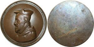 O5484 Très Rare Medaille Stanislas Hosius Cardinal Vienne desnoyers SPL