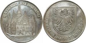 R0267 Germany Poland Rathaus Breslau Wroclaw Silesia Silver UNC - M Offer