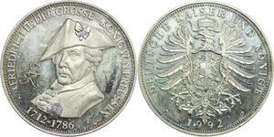 R0369 Germany Medal Prussia Friedrich II der Grosse 1712 1786 - 1992 Proof