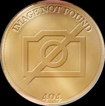 O4220 Timbre Monnaie 1 Franc Maréchal Foch Oeuvre de guerre Vermeil Proof BE