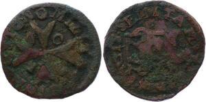 O2649 Order of Malta 1 Grano Ramon Perellos 1709 ->Make offer