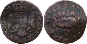 O2663 Order of Malta 5 Grani Emmanuel de Rohan 1780 ->Make offer