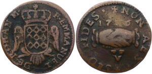 O2669 Order of Malta 5 Grani Emmanuel de Rohan 17?6 ->Make offer