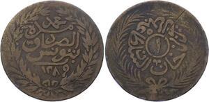 O2718 Tunisie Kharub Sultan Abdul Aziz 1289 1872 ->Make offer