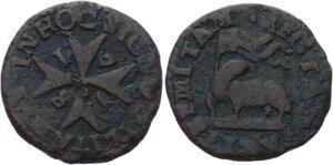 O2769 Order of Malta 1 Grano Ramon Perellos 1718 ->Make offer