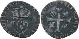 O2797 Charles IX 1560-1574 Douzain 2ème type 1574 I Limoges ->Make offer