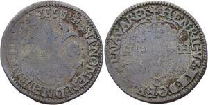 O2806 Henri IV 1589-1610 Douzain 2ème type 1595 C Saint-Lô ->M offer
