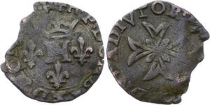 O2815 Dombes Henri II de Montpensier Liard vers 1595 Trévoux ->Make offer