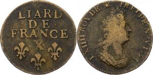 O2825 Liard de France Louis XIV 1693 X Amiens ->Make offer