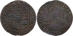 O2854 Rare R3 Sedan Henri de la Tour D'Auvergne Liard 1614 Raucourt