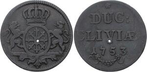O2985 German States Kleve Friedrich II 1753 ->Make offer