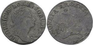 O2991 German States Silesia 3 Kreuzer Friedrich II 1781 B ->Make offer