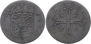 O3155 Scarce Switzerland Switzerland ½ batzen Friedrich I 1713 IP Neuchatel
