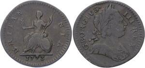 O3164 Great Britain Farthing Britannia Georges III 1773  17773 ->Make offer