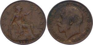 O3202 Great Britain Penny George V 1921 ->Make offer
