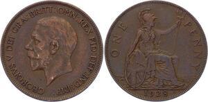 O3204 Great Britain 1 Penny George V 1928 ->Make offer