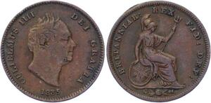 O3223 Great Britain 1/3 Farthing William IV 1835 ->Make offer