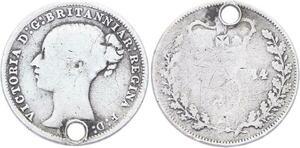 O3232 Great Britain 3 Pence Victoria 1874 Silver ->Make offer