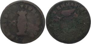 O3246 Order of Malta 10 Grani Emmanuel de Rohan 1776-1786 ->Make offer