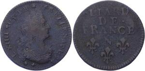 O3254 Rare R2 Liard Louis XIV 1694 N Montpellier -> Make offer