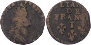O3258 Rare R3 Liard de France Louis XIV T Nantes  -> Make offer