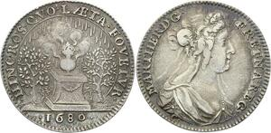 O3274 Rare Jeton Marie Therese D'Autriche 1680 Fovetvr Argent ->Make offer