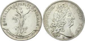 O3296 Rare Jeton R2 Louis XIV Parties Casuelles 1712 Argent Silver -> M offer