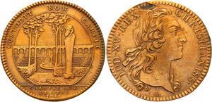 O3327 Jeton Louis XV Chambre deniers 1748 SUP ->Make offer