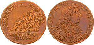 O3352 Rare Jeton Louis XIV Chambre Tresor Royal Semperque Recentes ->Make offer