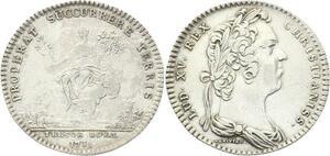 O3472 Jeton Louis XV Trésor Royal Abondance Assises 1731 Argent Silver