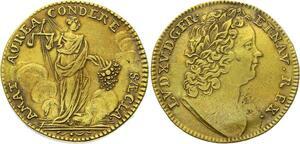 O3526 Rare R2 SUP ! Jeton Louis XV Nuremberg Bien Aimé SUP ->M offre