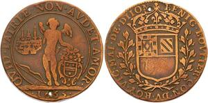 O3585 Jeton Louis XIV Dijon Bénigne Boulier Maire 1665 ->Make offer