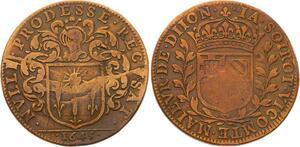 O3591 Jeton Louis XIV Dijon Jacques Soirot Maire 1645 ->Make offer