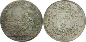 O3667 Rare R2 Jeton Cour Monnaie de Paris 1653 Argent ->M offre